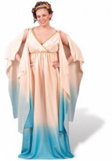 Sexy Greek/Roman Goddess Costume - Plus Size