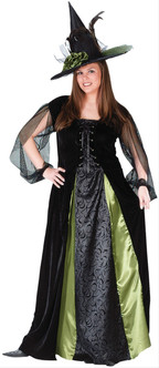 Goth Witch Plus Size Costume