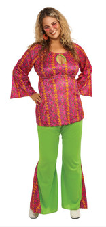 60s Funky Girl Costume - Plus Size