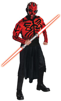 Darth Maul Star Wars Muscle Chest Costume