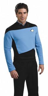 Blue Star Trek Next Generation Shirt Costume