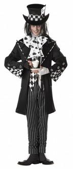 Dark Mad Hatter Wonderland Costume