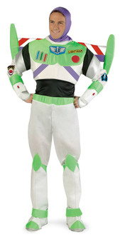 Buzz Lightyear Deluxe Adult Toy Story Costume