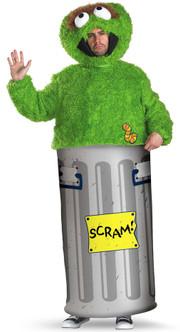 Oscar The Grouch Seame Street Costume