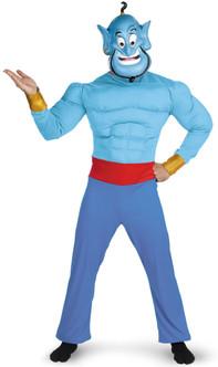 Aladdin's Disney Muscle Genie Costume