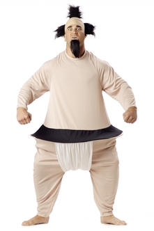 Sumo Wrestler Funny Halloween Costume