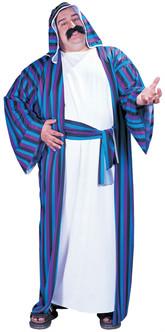Sheik Middle Eastern Arab Robe Plus Costume