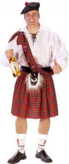 Big Shot Scot Costume - XL Size