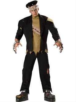 Men's Deluxe Franken Monster Costume