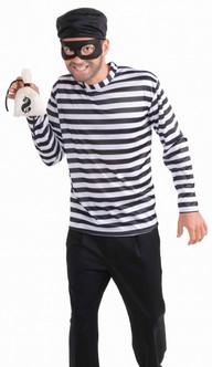 Cartoon Style Burglar Costume