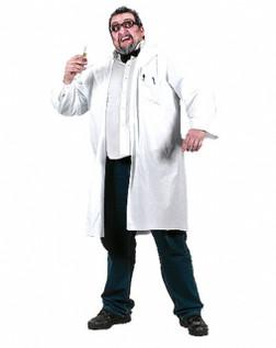 Mad Scientist XLarge Lab Coat Doctor Costume