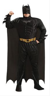 Batman Adult Costume Plus Dark Knight Rises