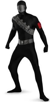 Snake Eyes G.I. Joe Skin Suit Costume
