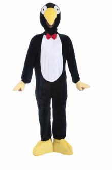 Plush Penguin Mascot Costume