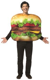 Cheeseburger Deluxe Adult Costume
