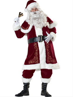Jolly Ol' St. Nick Deluxe Holiday Costume