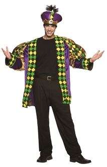 King of Mardi Gras Costume