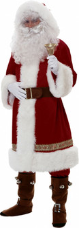 Luxurious Father Christmas Suit