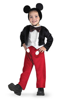 Toddler/Children's Deluxe Mickey Mouse Costume