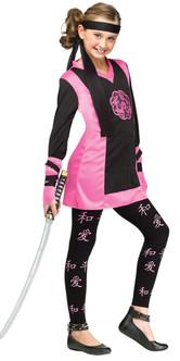Children's Dragon Ninja Girl Costume