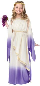 Children's Lavender Greek/Roman Goddess Costume