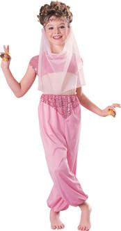 Children's Harem Belly Dancer Arabian Costume