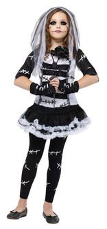 Monster Bride Girl's Costume
