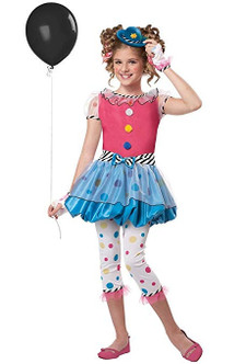 Children's Dotsy the Clown Dress Costume