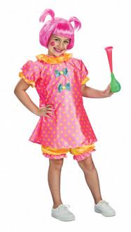 Children's Pink Clown Costume