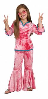 60s Flower Child Hippie Child Costume