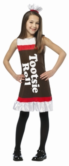 Children's Tootise Roll Dress Costume