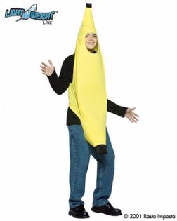 Teen Light Weight Banana Costume