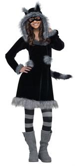 Sweet Raccoon Teen Costume