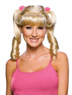 Cheerleader Blonde Ponytails Wig