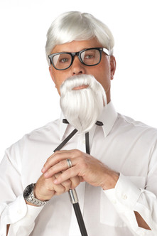 The Colonel Sanders Wig & Goatee