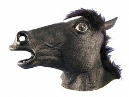 Black Horse Costume Mask