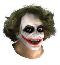 Joker Mask with Hair