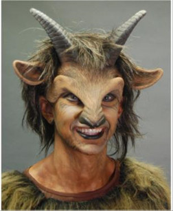 Goat Boy Latex Headpiece