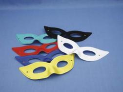 Libellula Black Costume Superhero Mask