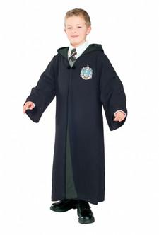 Children's Deluxe Harry Potter Slytherin Robe Costume