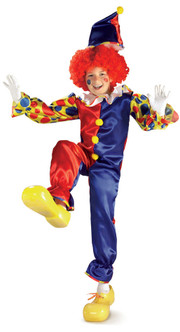 Bubbles the Clown Boys Costume
