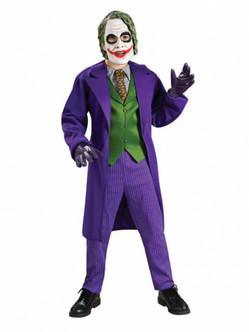 Deluxe Children's Joker Halloween Costume