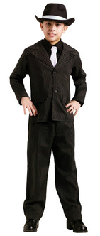 Boys Pinstripe Gangster Suit