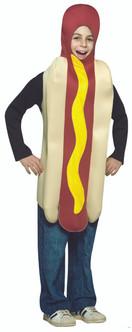 Kids Hot Dog Halloween Costume