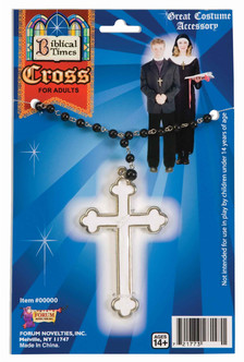 Religious Rosary Cross Necklace