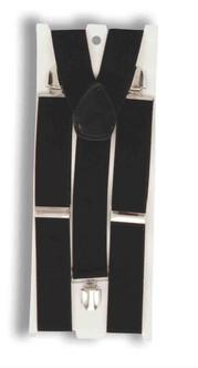 Formal Black Suspenders