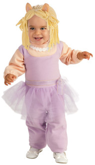 CLEARANCE - Infant/Toddler's Miss Piggy Romper Costume