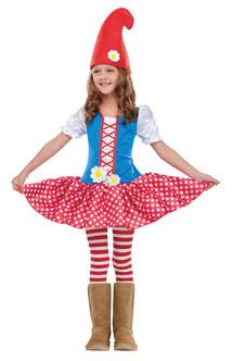 Toddler's Garden Gnome Dress Costume