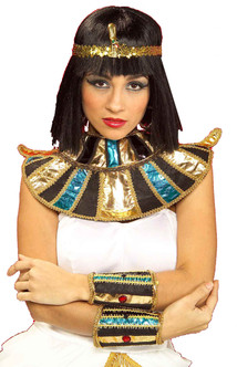 Egyptian Shiny Costume Cleopatra Wrist Bands