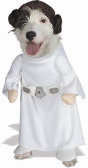 Princess Leia Pet Star Wars Costume